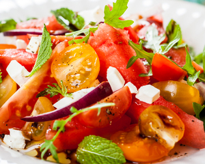 Mediterranean Buffet Menu by Chef Samia Ahad | Clubvivre