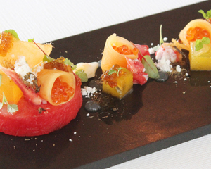 Chef emmanuel stroobant clubvivre for Japanese canape