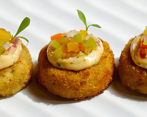 Healthy Deluxe Canapes Menu by Chef Jason Vito | Clubvivre