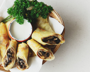 Russian Crepes and Sweets Menu by Chef Rinat Valiev | Clubvivre