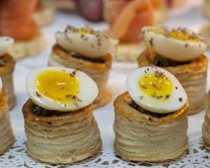 Party Good Time Canapes Menu by Chef Peter Rollinson | Clubvivre