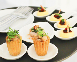 Modern Singaporean Canapes Menu by Chef Eric Low | Clubvivre