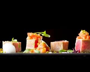 Avant-Garde Canapes Menu by Chef Stephan Zoisl | Clubvivre