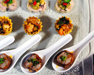 Premium Fusion Canapes Menu by Chef Eric Low | Clubvivre
